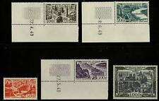 France  1949 - 50  Scott # C23 - C27  MNH Set