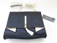 NEW Women/'s LUXE BOBS FLEETWOOD Flat Black Slip On #31451 130K tk