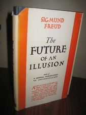 1st Edition FUTURE OF AN ILLUSION Sigmund Freud PSYCHOLOGY 7th Printing SCIENCE
