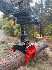 Bypass Log Grapple Amp Rotator Ife 4t55 55 Universal Log Scrap Stone Grapple