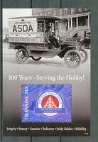 Grenada 2014 MNH ASDA American Stamp Dealers Association 100th Anniv 1v SS II