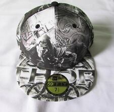 NEW ERA CAP HAT 59FIFTY THOR ALL OVER MARVEL THE AVENGERS DC COMICS SIZE 7 1/2