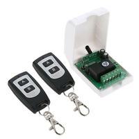 Wireless RF Switch DC 12V Relay Receiver Module (2 Transmitter & 1 Receiver)