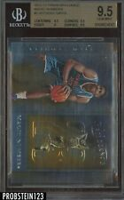 2012-13 Panini Brilliance Magic Numbers Anthony Davis RC Rookie BGS 9.5