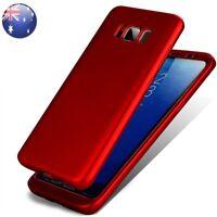 Samsung Galaxy S8 S7 Edge S5 Hybrid 360° Hard Ultra thin Case Protective Cover