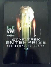 Star Trek: Enterprise - The Complete Series (Blu-ray Disc, 2017, 24-Disc Set)NEW