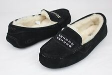UGG Ansley Deco Studs Fully Lined Slippers Black Color Size 10 US