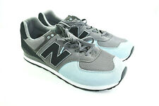 New Balance 574 Mens Leather Shoes Mint/Black/Gray Size 18 Wide 2E