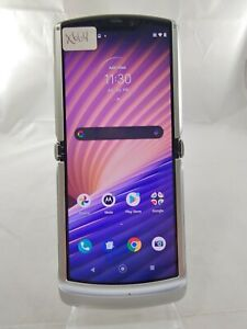 Motorola RAZR 5g XT2071-2 256GB AT&T GSM Unlocked Smartphone Fold Silver X664