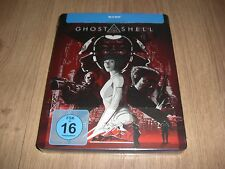 Ghost in the Shell Blu-Ray Limited Steelbook mit Prägung (embossed) NEU