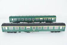 L.S. Models LS42159 2tlg. Wagenset I4 A4B6 + A9 grün der SNCB, Ep. IIIc, Spur H0
