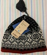 NWT Dale of Norway 100% Wool Hat - Hardanger Fjord Pattern -One size fits most