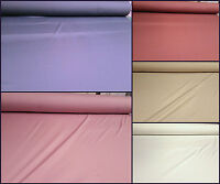 Heavy Weight Cotton Nylon Lycra 4 Way Stretch Material Fabric Dancewear Shapewea