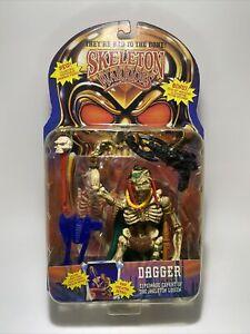 SKELETON WARRIORS - Dagger Action Figure 1994 Playmates Sealed