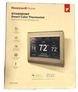 NEW - HONEYWELL WI-FI SMART COLOR PROGRAMMABLE THERMOSTAT - RTH9585WF