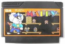 "FAMICOM NES FC""MAPPY""NAMCOT NAMCO FAMILY COMPUTER JAPAN"