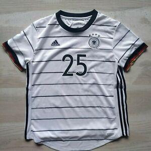 Muller Germany Jersey Home football shirt 2019-2021 Adidas EH6102 Trikot Woman L