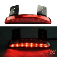 Chopped Fender Edge LED Tail Light Lamp For Harley Iron Sportster XL883 1200 Red