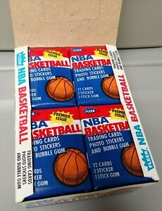 1986-87 Fleer NBA Basketball Wax Pack