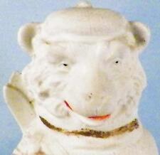 Antique Bisque Bear w Skis German Figurine Carl Schneider Grafenthal G Dep 9885