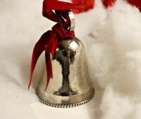 Vintage Metal Bell Ornament