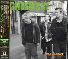 GREEN DAY - Warning: - CD - Japan 2000 -  Reprise Records - WPCR-10850