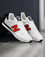 New Balance 500 Scarpe Sportive Sneakers GM 500 Uomo Bianco Rosso