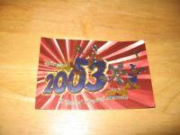 DISNEY LAND FOIL 12 POST CARD SET LOT MICKEY MOUSE DONALD DUCK GOOFY TINKERBELL