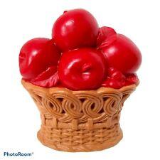 Vintage unbenutzt Deko Duft reichliche Ernte Spice Pomander Obstkorb