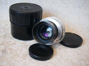KMZ HELIOS 33 35mm f/2 Lens M39 mount for MFT camera