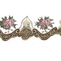 Vintage Embroidery Lace Trim Braid Ribbon Trim Sewing DIY Craft Wedding Dress