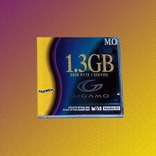 """Sony EDM-G13C, Gigamo 3,5 """" MO Disk 1,3 GB Datenkassette, NEU & OVP"""