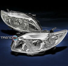 2009-2010 TOYOTA COROLLA CRYSTAL JDM CLEAR HEADLIGHT LAMP CE LE S XLE XRS CORNER