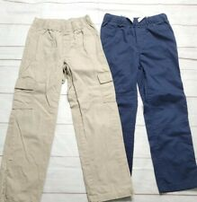 Cat & Jack Jumping Bean Size 7/7X Boys Straight Pants Lot Of 2