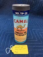 Vintage Camel Tubeless Tire Plug Repair Kit