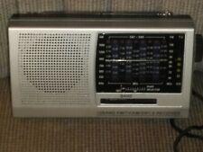 12 BAND PORTABLE RADIO FM/TV/AM/SW1-9 RECEIVER NO 1 HI-FI DC 3V UM-1X2 NOT USED!