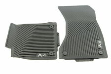 Original Audi Allwetterfußmatten 2 Stück vorn schwarz Audi A4/RS4 8W1061501 041