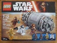 Lego Star Wars Droid Escape Pod 75136 - New in Sealed Box