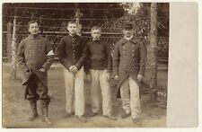 PORTRAIT OF FOUR WORLD WAR I PRISONERS OF WAR I HELD AT POW CAMP IN KONIGSBRUCK