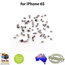 for iPHONE 6S - Full Set of Screws - with ROSE GOLD Pentalobe Screw