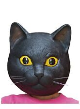 Ogawa studio Rubber mask  Black cat mask Cosplay Party from japan New