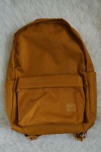 Herschel Supply Co. Berg Backpack Unisex | Mustard Brown- Laptop Pockets ~ NEW