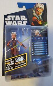Hasbro Star Wars The Clone Wars Ahsoka Tano CW44 Figure - Open and Complete