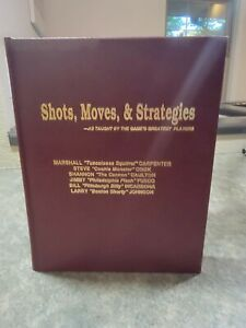 Shots, Moves and Strategies: As Taught by the Game's Greatest Players Hardcover