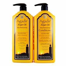 Agadir Argan Oil Daily Moisturizing Shampoo and Conditioner Liter