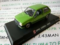AP34N Coche 1/43 IXO AUTO MÁS : OPEL corsa A 1982 verde