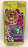 Polly Pocket Tiny Compact Playground including Swing Places Garden Brand New UK