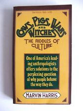 MARVIN HARRIS : COWS, PIGS, WARS & WITCHES, RIDDLES OF CULTURE / VINTAGE / 1975