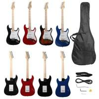 New 4 Colors Basswood Right Handed 22 Frets GST Electric Guitar with Bag