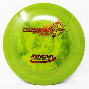 Thunderbird Star Unique Super Swirly 172g Green New Innova New Prime Disc